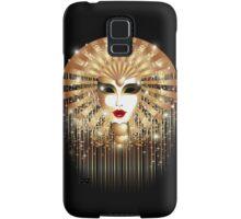 Golden Venice Carnival Mask  Samsung Galaxy Case/Skin