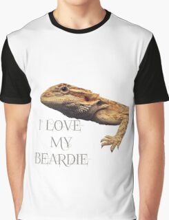 i LOVE MY BEARDIE Graphic T-Shirt