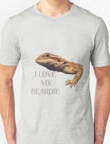 i LOVE MY BEARDIE Unisex T-Shirt