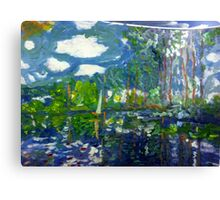 'Water Reflection' Canvas Print
