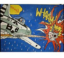 'Whaam' Photographic Print