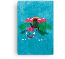 Mega Venasaur Canvas Print