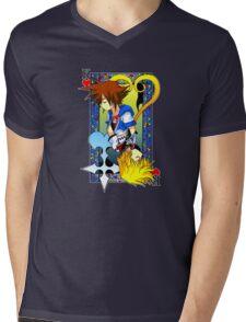 King of the Hearts Mens V-Neck T-Shirt