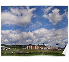 Gigundo clouds Poster