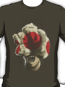 Mushroom Kingdom clicker [Red] - Mario / The Last of Us T-Shirt