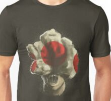 Mushroom Kingdom clicker [Red] - Mario / The Last of Us Unisex T-Shirt
