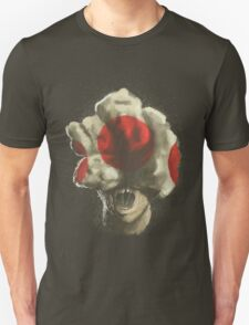 Mushroom Kingdom clicker [Red] - Mario / The Last of Us T-Shirt