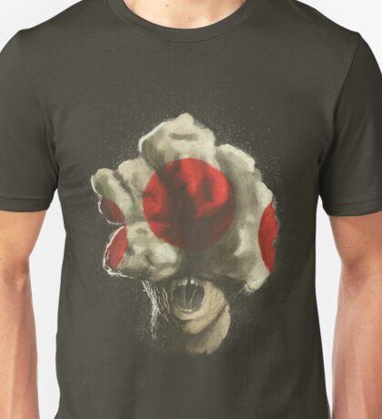 Mushroom Kingdom clicker [Red] - Mario / The Last of Us Unisex T-Shirt