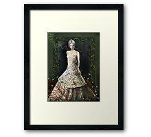 Zombie Bride Framed Print