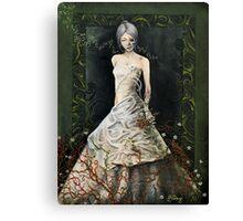 Zombie Bride Canvas Print