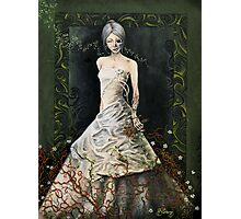 Zombie Bride Photographic Print
