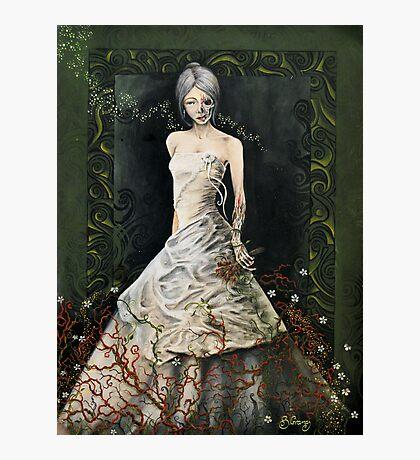 Zombie Bride Photographic Print