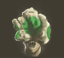 Mushroom Kingdom clicker [Green] - Mario / The Last of Us Unisex T-Shirt