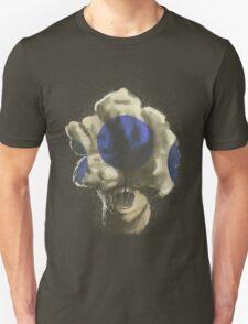 Mushroom Kingdom clicker [Blue] - Mario / The Last of Us T-Shirt