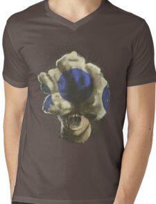 Mushroom Kingdom clicker [Blue] - Mario / The Last of Us Mens V-Neck T-Shirt