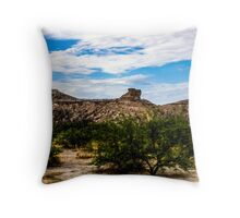 The View From My Car In Arizona 1 Throw Pillow