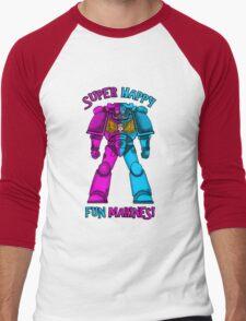 SUPER FUN MARINES. Men's Baseball ¾ T-Shirt