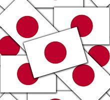 Smartphone Case - Flag of Japan Multiple I by Mark Podger