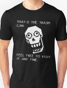 Undertale - Papyrus SHIRT - Trash Can T-Shirt