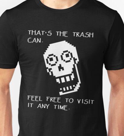 Undertale - Papyrus SHIRT - Trash Can Unisex T-Shirt