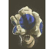 Mushroom Kingdom clicker [Blue] - Mario / The Last of Us Photographic Print