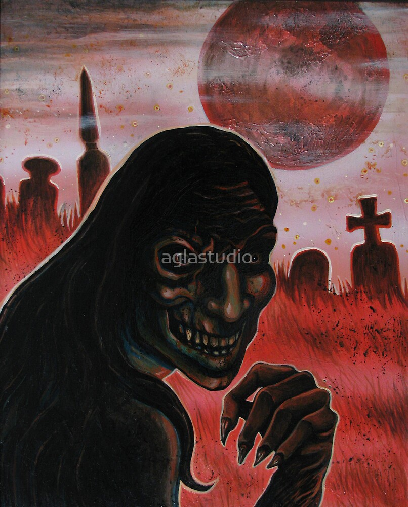 Blood Moon by aglastudio
