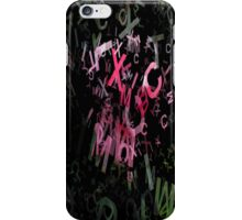 Pink Roses in Anzures 6 Letters 1 iPhone Case/Skin