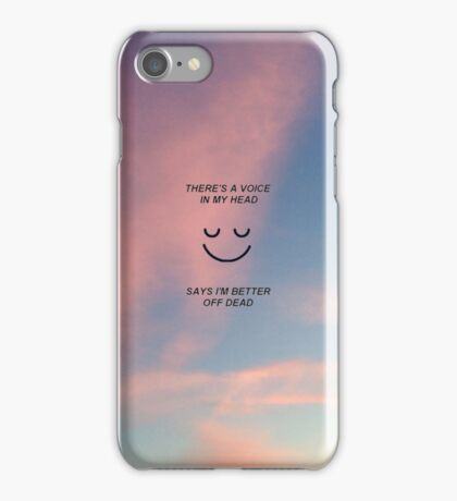 happy song - bmth iPhone Case/Skin