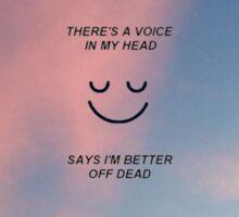 happy song - bmth Sticker