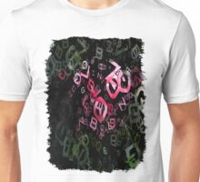 Pink Roses in Anzures 6 Letters 3 Unisex T-Shirt