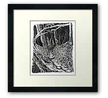 Beyond the Bridge Framed Print