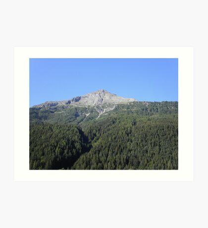 pic - tomorrow we go' - mount - . Piemonte -Italia - Europa- VETRINA RB EXPLORE 13 NOVEMBRE 2013 - - Art Print