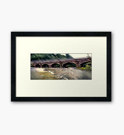 Spanning Arches Framed Print