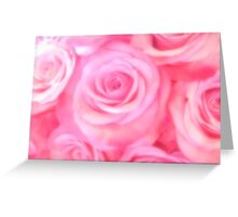 Pink Pleasure Greeting Card