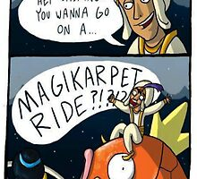 MAGIKARPET RIDE by JordanRhysZubi