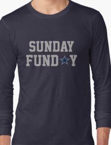 Dallas_Star_Outline Long Sleeve T-Shirt