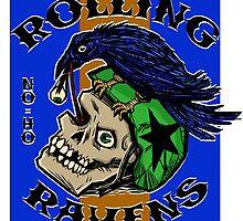Rolling Ravens Logo by tuesdayart