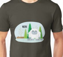 Cute Cartoon Yeti Unisex T-Shirt