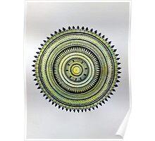 Mandala of the Heart  Poster