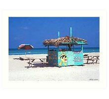 Beach Treats  Art Print