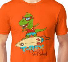 T-Rex Surf School Unisex T-Shirt