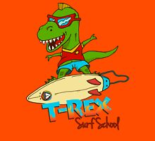 T-Rex Surf School Unisex T-Shirt