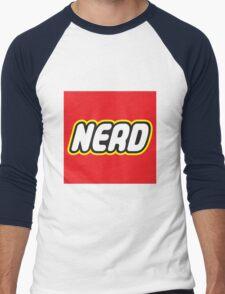 Playful Nerd  Men's Baseball ¾ T-Shirt