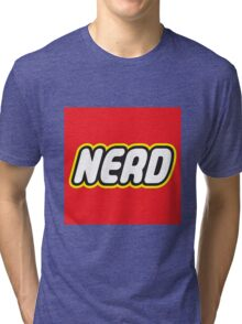 Playful Nerd  Tri-blend T-Shirt