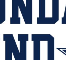 Dallas Sunday Sticker