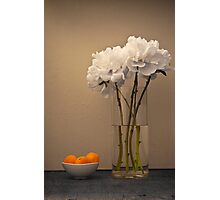 Peonies and Apricots Photographic Print