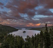 Beautiful Light - Emerald Bay by Richard Thelen