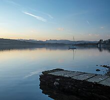 Lake Windermere Evening  by Nick Jenkins
