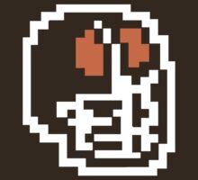 8-BIT Cleveland Helmet - Brown by WeBleedOhio