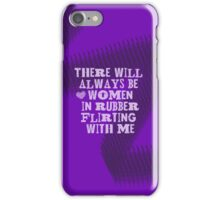 Women in Rubber iPhone Case/Skin